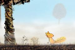 le renard qui suivait les sons